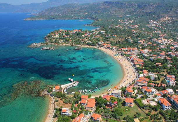 250 meters from Stoupa Beach